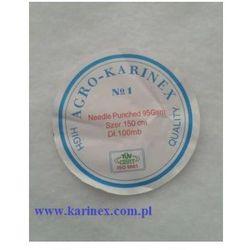 Geowłóknina 90 g/m2, biała 1,6 x 50 mb. Rolka.