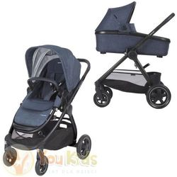 Od YouKids Adorra Maxi-Cosi 3w1 gondola Oria + CabrioFix 0-13 kg - wózek głęboko-spacerowy nomad blue