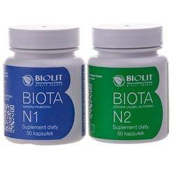 Biota Complex Biota N1 50 kapsułek Biota N2 50 kapsułek Biolit