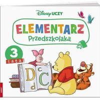 Książki dla dzieci, Disney Uczy. Kubuś i przyjaciele. Elementarz przedszkolaka 3 lata (opr. broszurowa)