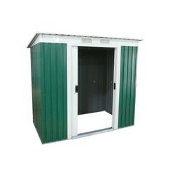 Altana ogrodowa z zielonej galwanizowanej stali RINGO - 3 m2