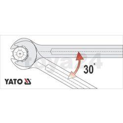 Klucz płaski z polerowaną główką 18x19 mm Yato YT-0373 - ZYSKAJ RABAT 30 ZŁ
