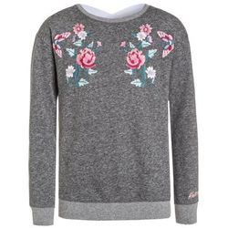 Abercrombie & Fitch BALLET INSPIRED LACE BACK Bluza dark heather grey