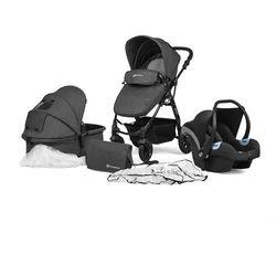 Kinderkraft Wózek wielofunkcyjny 3w1 Moov czarny