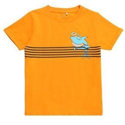 NAME IT Koszulka 'NMMVUXI SS TOP J' mieszane kolory / pomarańczowy