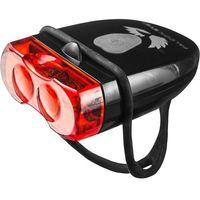 Oświetlenie rowerowe, Lampa tylna Falcon Eye FLEA ładowalna USB