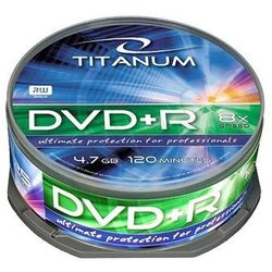 Płyty Titanum DVD+R 4,7GB 8x - Cake - 25szt.