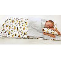 Śpiworki dziecięce, Śpiworek przedszkolaka 100% bawełna koparki + worek