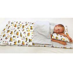 Śpiworek przedszkolaka 100% bawełna koparki + worek