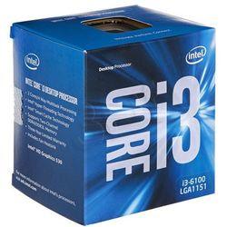 Procesor Intel Core i3-6100 BX80662I36100 945911 ( 3700 MHz (max); LGA 1151; BOX )
