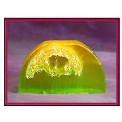 CYTRYNA z LIMONKĄ - mydło peelingujące na wagę