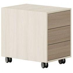 Kontener na kółkach, 3 szuflady Wood LAYERS