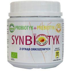 Synbiotyk bio probiotyk + prebiotyk z otrąb orkiszowych 150g Joy Day Living Food