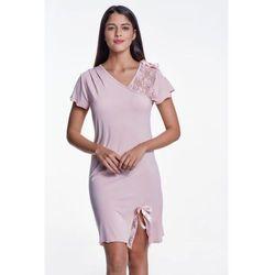 Bambusowa koszula nocna damska ZARA S Różowy