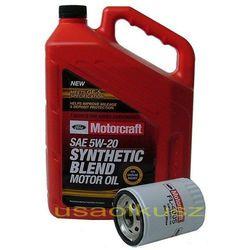 Oryginalny filtr oraz olej silnikowy Motorcraft 5W20 Mercury Mystique 2,0