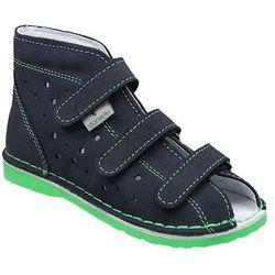 Kapcie profilaktyczne buty DANIELKI TX105 TX115 Granat Zielony - Granatowy ||Zielony ||Multikolor