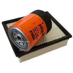 Filtr powietrza oraz filtr oleju Ford Ranger 1997-2001