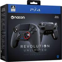 Gamepady, Kontroler bezprzewodowy NACON Revolution Unlimited Pro Czarny do PS4