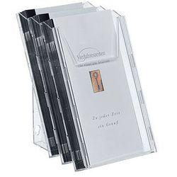 Zestaw 3 półek na ulotki 1/3 A4 Combiboxx Durable 8599-19