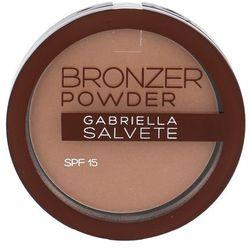 Gabriella Salvete Bronzer Powder puder brązujący SPF 15 odcień 01 8 g