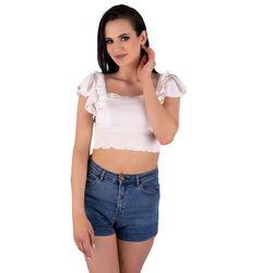 Darita White B27 bluzka top