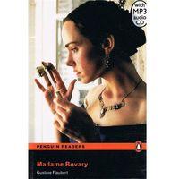 Książki do nauki języka, Madame Bovary + CD. Penguin Readers (opr. miękka)