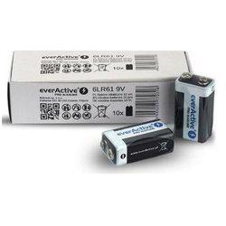 Bateria alkaliczna 9V 6LR61 everActive Pro Alkaline 10 sztuk