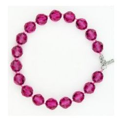 Bransoletka Swarovski Crystal, różowy