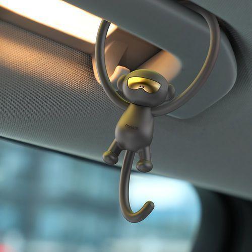 Odświeżacze powietrza do samochodu, Baseus Monkey Car Fragrance uniwersalny odświeżacz powietrza zapach samochodowy czerwony (SUXUN-MK09)