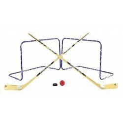 Zestaw do gry hokejowy FISCHER 2w1 HOKEJ kije bramki lato+zima