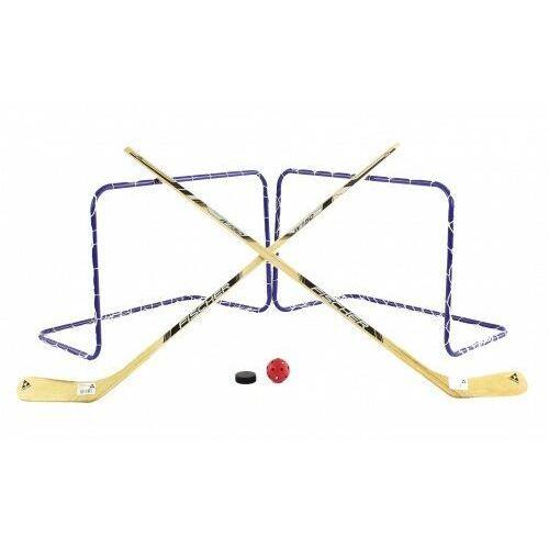 Pozostałe sporty zimowe, Zestaw do gry hokejowy FISCHER 2w1 HOKEJ kije bramki lato+zima