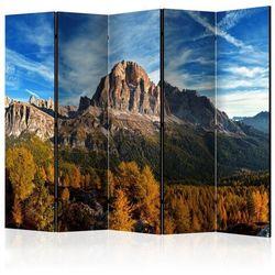 Parawan 5-częściowy - Widok panoramiczny na włoskie Dolomity II [Room Dividers]