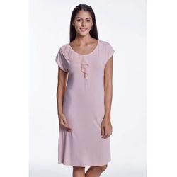 Bambusowa koszula nocna damska CARMEN S Różowy