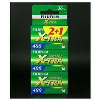 Klisze fotograficzne, Fuji Superia X-Tra 400/36 x 3 negatyw kolorowy typ 135