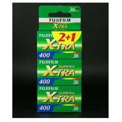 Fuji Superia X-Tra 400/36 x 3 negatyw kolorowy typ 135
