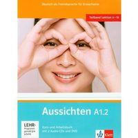 Książki do nauki języka, Aussichten A1.2 Kurs Und Arbeitsbuch + 2cd + Dvd (opr. miękka)