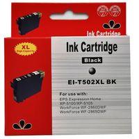 Tusze do drukarek, zastępczy atrament Epson 502XL [C13T02W14010] black