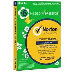 Norton Security 2018 Deluxe 1 Użytkownik, 5 Urządzeń, 18 miesięcy