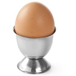 Kieliszek stalowy na jajko - 6 szt.