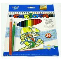 Kredki, Kredki ołówkowe 24 kolory