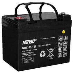 Akumulator AGM NERBO NBC 36-12i (12V 36Ah)
