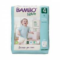 Pozostałe pieluchy, Pieluchomajtki Bambo Nature 4 Maxi 7-14kg, 20 szt.