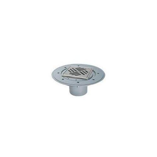 wpust łazienkowy classic z kratką szczelinową 150 mm i ramą ze stali nierdzewnej 47902 marki Kessel