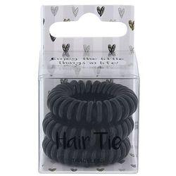 2K Hair Tie gumka do włosów 3 szt dla kobiet Black