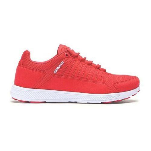 Męskie obuwie sportowe, buty SUPRA - Owen Red-White (RED)
