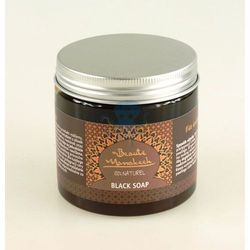Beaute Marrakech czarne mydło naturalne Savon Noir 200g