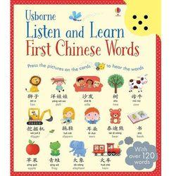 Listen and Learn First Chinese Words - Dostawa 0 zł (opr. twarda)