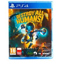Gry PS4, Destroy All Humans! PL (PS4)