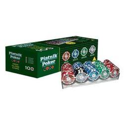 Piatnik, zestaw pokerowy, Propoker 100 żetonów