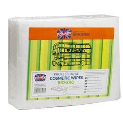 Ronney COSMETIC WIPES BIO-ECO Chusteczki kosmetyczne gładkie (25x38)